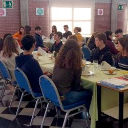 """""""Bona Nutrició i Protocol a taula"""" dels alumnes de 4t.d'ESO"""