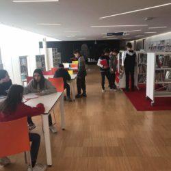 Visita biblioteca #somlasalle