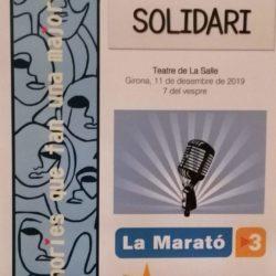 Concert Solidari La Marató TV3 #Imagina #SomLaSalle