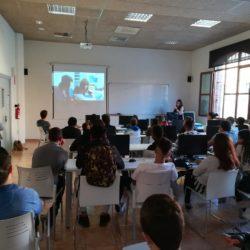#LaSalleGirona Projecte Tarlà Foto: extretat del twitter del ajuntament